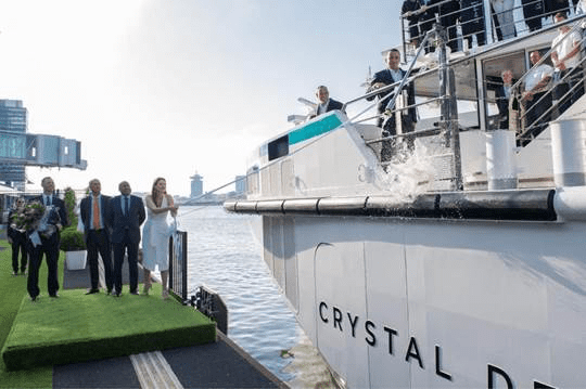 Crystal Debussy christening in Amsterdam