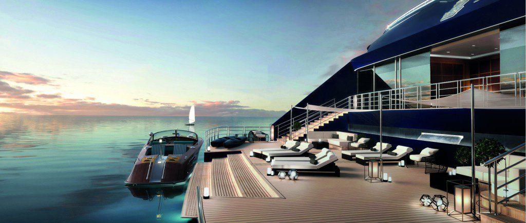 The marina on Ritz-Carlton's upcoming yachts