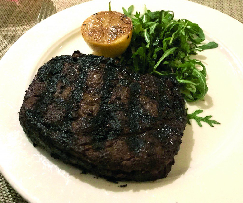 Viking's steaks are among the best at sea