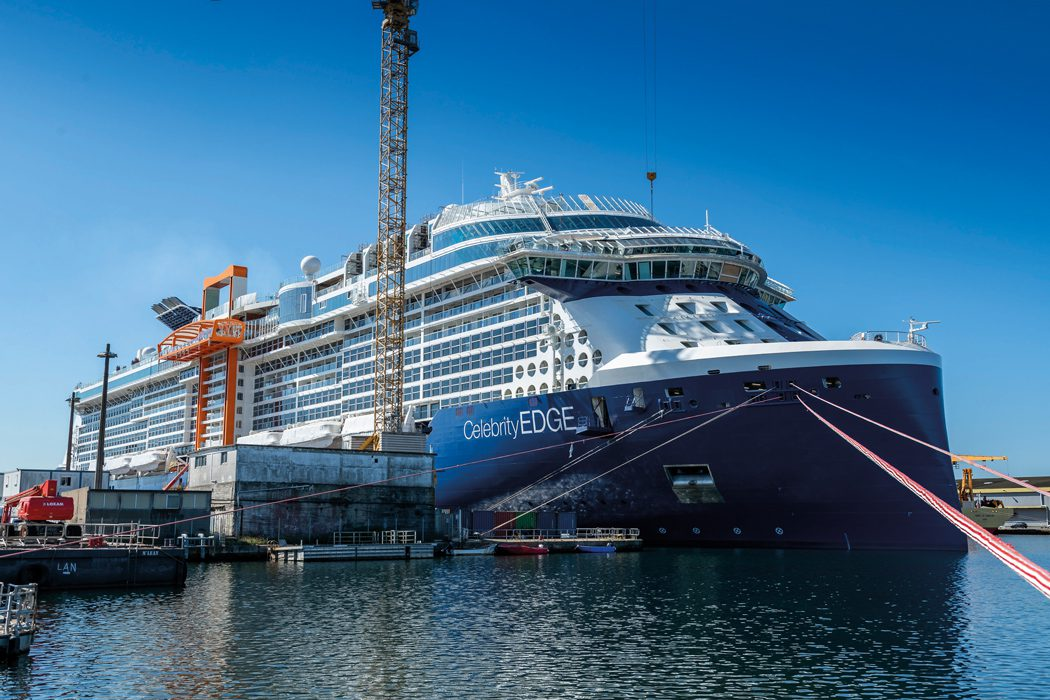 Celebrity Edge The View From The Shipyard