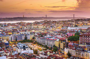 Cruise ports of call: Lisbon