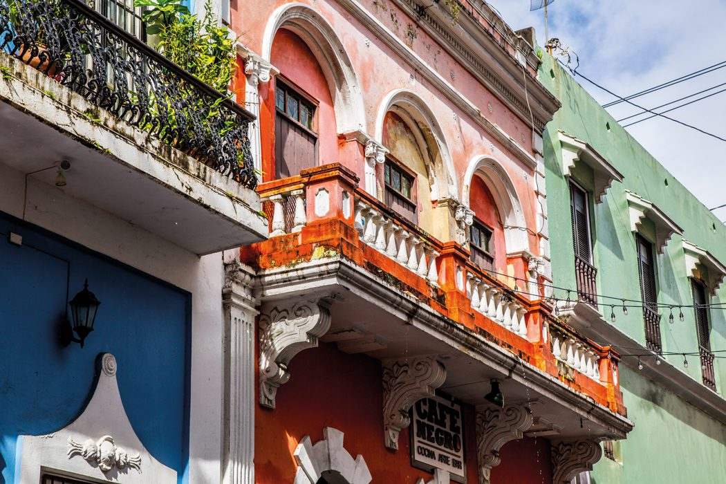 San Juan's colourful buildings