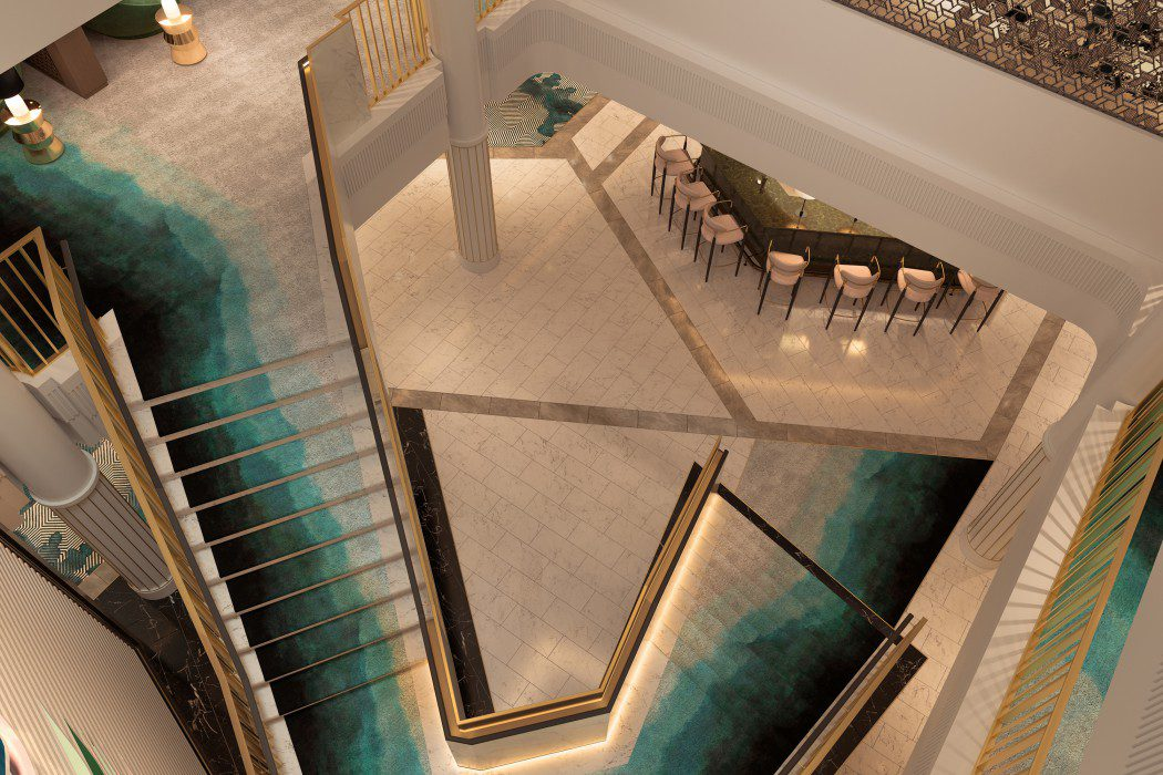 Foyer Staircase View 1