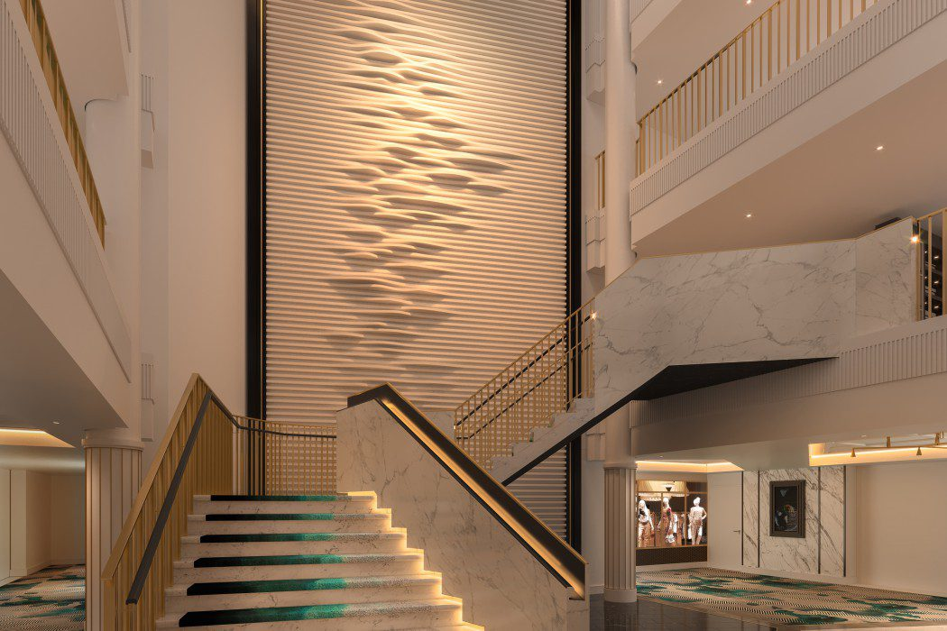 Foyer Staircase View 2