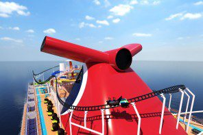 Carnival to open first-ever rollercoaster at sea