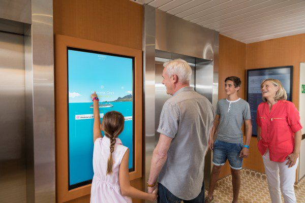 Family with Interactive Portal
