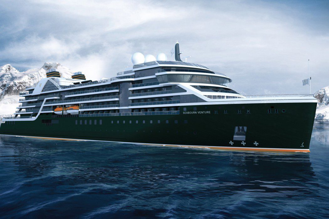 Seabourn - Expedition Ship Rendering