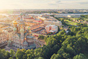 Cruise ports of call: St Petersburg