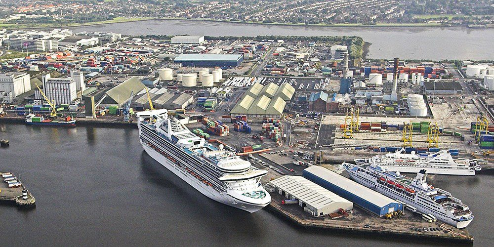 Dublin cruise port