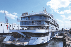 Brand new Galápagos expedition ship Celebrity Flora unveiled