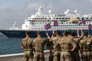 Boudicca pays tribute to D-Day veterans with Normandy sailing