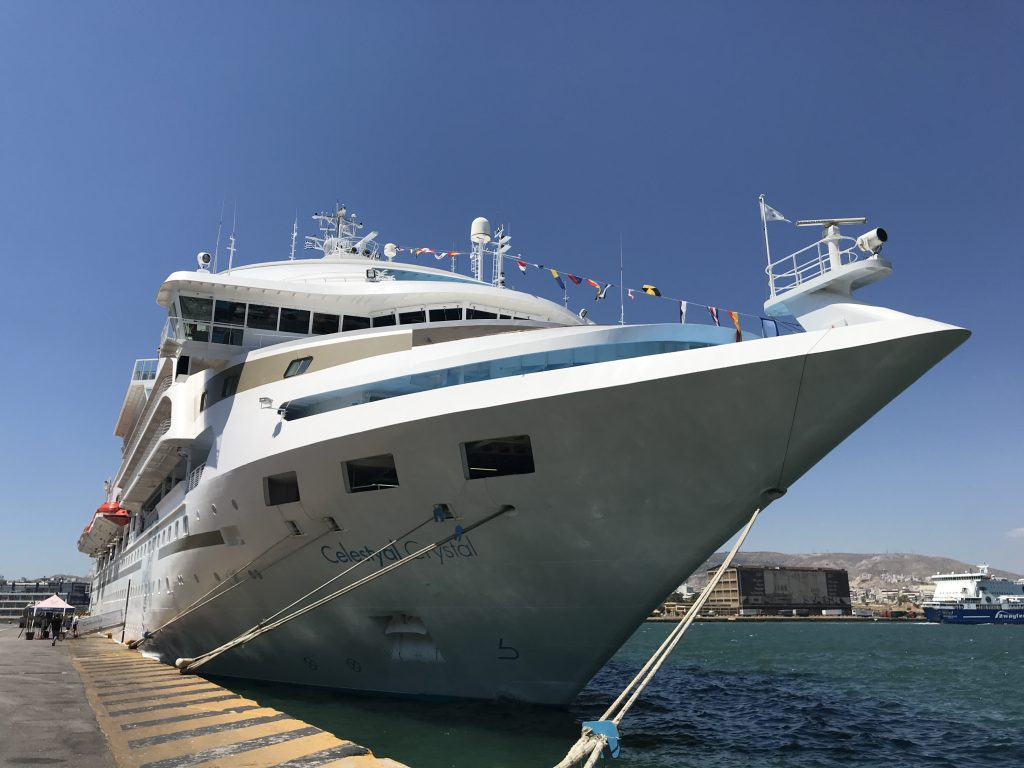 Sailing Greece with Celestyal Cruises