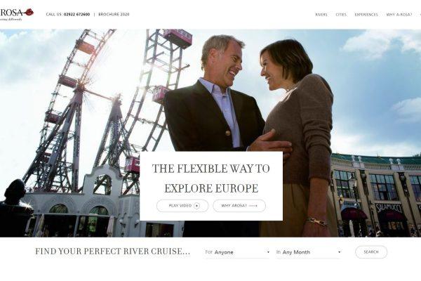 A-ROSA website
